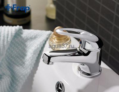 Смеситель для раковины Frap F1003 (фото, вид 5)