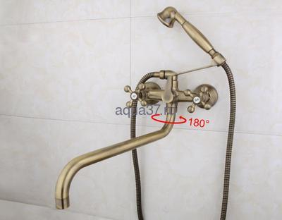 Смеситель для ванны Frap F2619-4 (фото, вид 8)