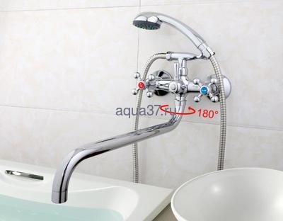 Смеситель для ванны Frap F2619 (фото, вид 7)