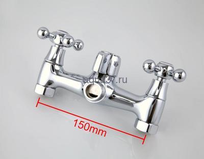 Смеситель для ванны Frap F2619-2 (фото, вид 4)