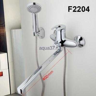Смеситель для ванны Frap F2204 (фото, вид 2)