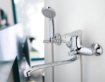 Смеситель для ванны Frap F2201 (фото, вид 9)