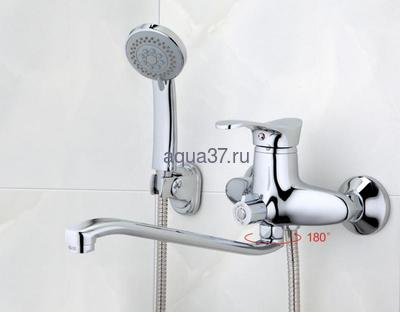 Смеситель для ванны Frap F2201 (фото, вид 10)