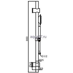 Душевой гарнитур Frap F8016. Вид 2