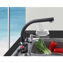 Смеситель для кухни Frap F5408-7. Вид 2