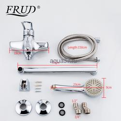 Смеситель для ванны Frud R22066. Вид 2