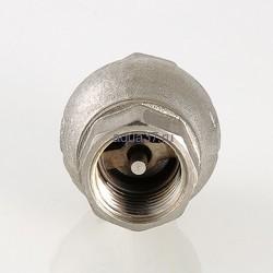 """Клапан обратный с латунным золотником 1"""" Valtec. Вид 2"""
