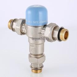 """Клапан трехходовой термостатический смесительный регулируемый Thermomix 1/2"""" Valtec. Вид 2"""