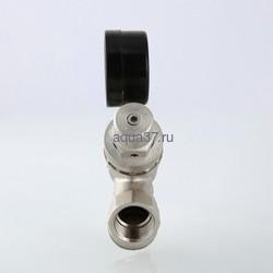 """Подпиточный клапан с фильтром и манометром 1/2"""" Valtec. Вид 2"""