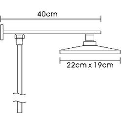 Душевая система Frap F2406. Вид 2