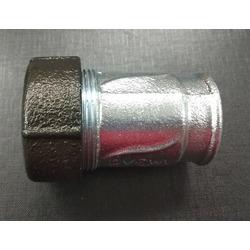 """Обжимной соединитель для стальных труб тип IK с внутренней резьбой 1/2"""" AGA. Вид 2"""