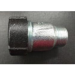 """Обжимной соединитель для стальных труб тип АK с наружной резьбой 1/2"""" AGA. Вид 2"""