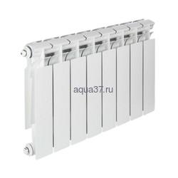 Радиатор биметаллический Tenrad 350/80 10 секций. Вид 2
