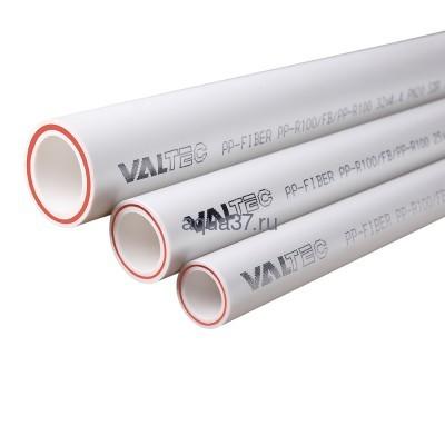 Труба PN20 D-20 армированная стекловолокном хлысты по 2 метра Valtec