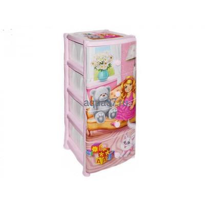 Комод Кукла 4 секции