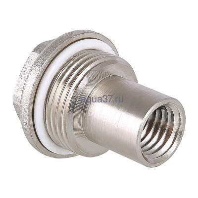 """Удлинитель потока для радиатора левый 1/2"""" Valtec (фото)"""