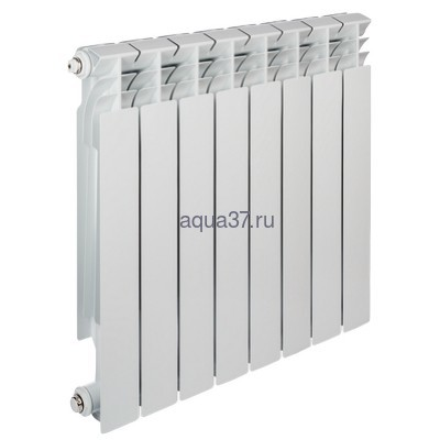 Радиатор алюминиевый Tenrad 500/80 8 секций
