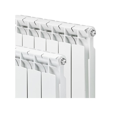 Радиатор биметаллический Tenrad 350/80 10 секций (фото)
