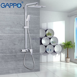 Душевая система Gappo G2407-30 белая