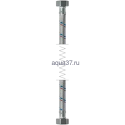 """Гибкая подводка гайка/гайка 80 см в силиконовой оплетке 1/2"""" Frap"""