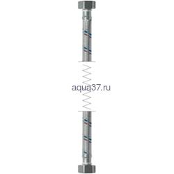 """Гибкая подводка гайка/гайка 30 см в силиконовой оплетке 1/2"""" Frap"""