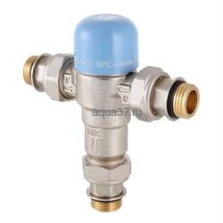 """Клапан трехходовой термостатический смесительный регулируемый Thermomix 1/2"""" Valtec"""