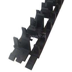 Шина фиксирующая для монтажа труб теплого пола для 16 мм и 20 мм